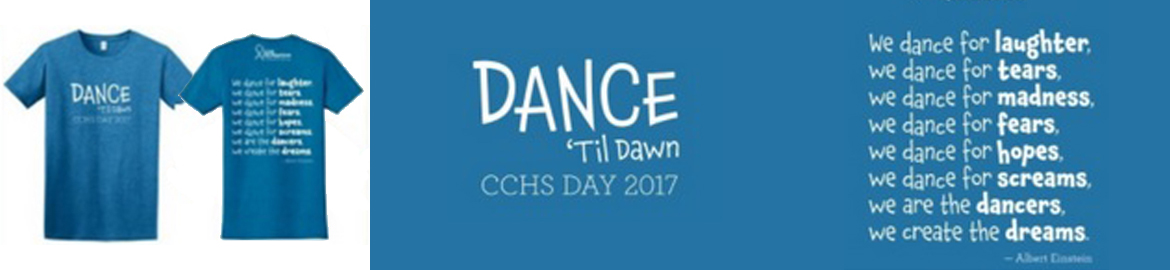 "2017 CCHS Day ""Dance 'Til Dawn"" T-Shirts"